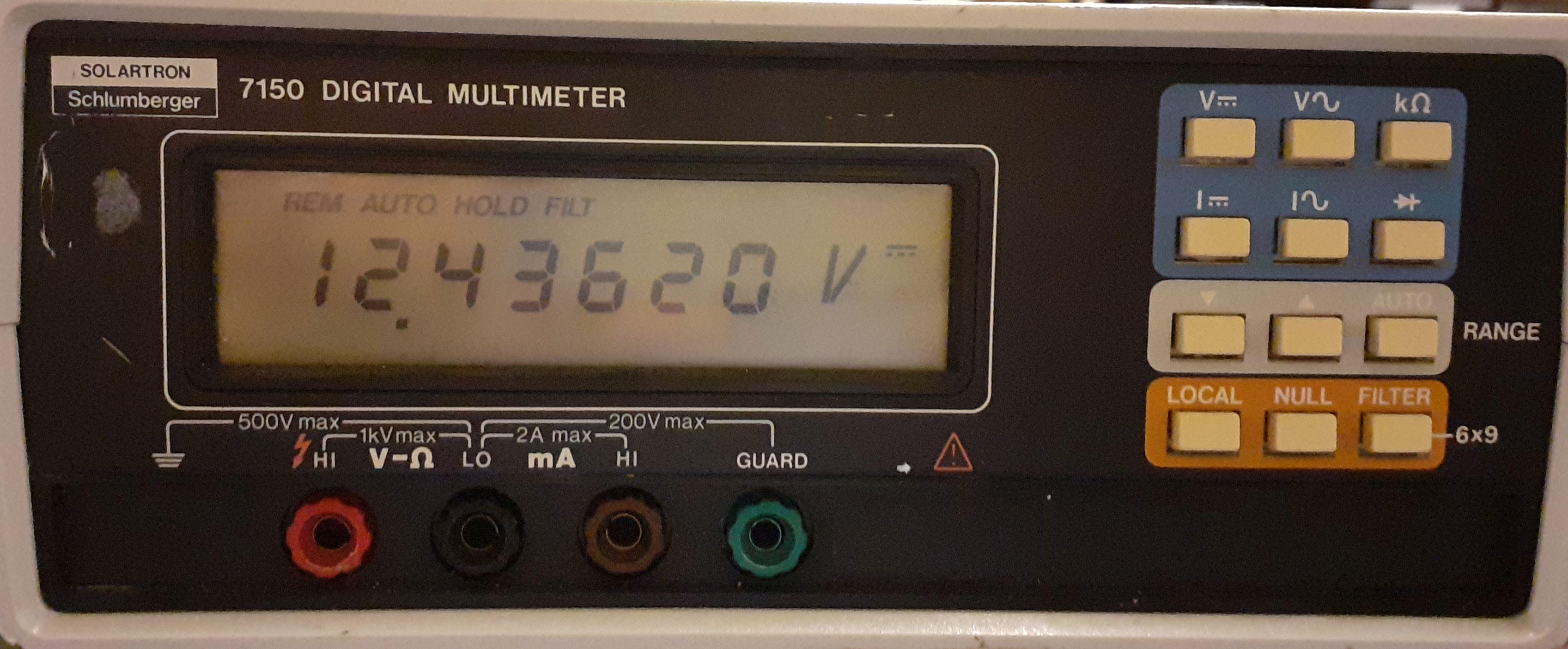 Solartron 7150